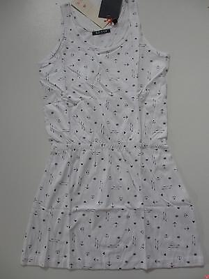 SALE %% BLUE SEVEN TEENS Kleid Sommerkleid Jerseykleid 528014 weiß NEU