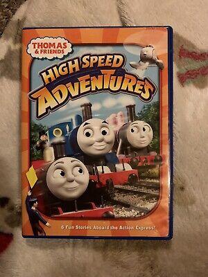 Thomas The Train Thomas And Friends High Speed Adventures Dvd Movie RARE