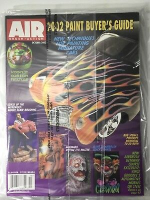 - AIrbrush Action Magazine October 2002