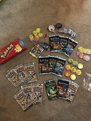 EMPTY Pokemon packs- 1st Editions Base Set, Fossil, Jungle - Charizard, more