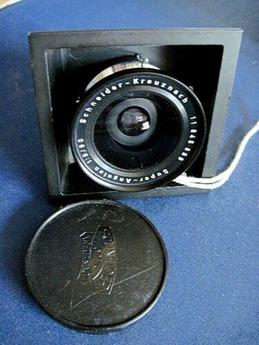 Large format camera Seikosha-SLV shutter/Schneider-Kreuznach Super-Angulon lens