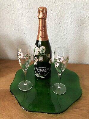 Champagne perrier jouet belle epoque 1996 und 2 original Gläser