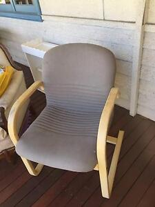 Armchairs (two), 'Swedish-style' bentwood upholstered Palmyra Melville Area Preview