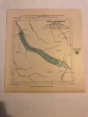 Talla Reservoir - Tweed Basin (22 X 24cm)