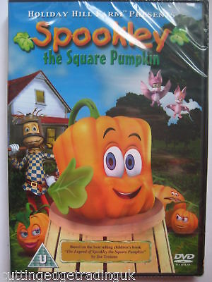 Spookley The Square Pumpkin, Halloween(DVD, 2012) NEW SEALED PAL Region 2](Halloween 2 Movie Pumpkin)