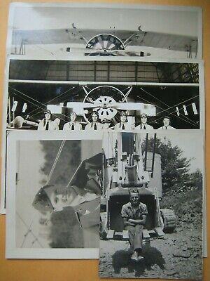 1930's US Navy/Marine Pilots Helmets Goggles Military Plane Group Photo Lot