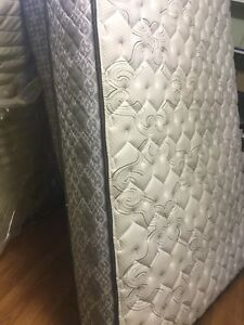 delivery included- 2yr old double mattress boxspring