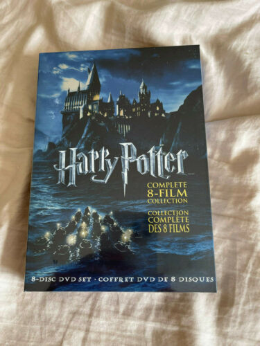 Harry Potter 8-Film Collection (DVD, 2011) Brand New
