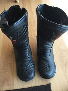 Dri Rider motorcycle boots Sz US 10 Bonnells Bay Lake Macquarie Area Preview
