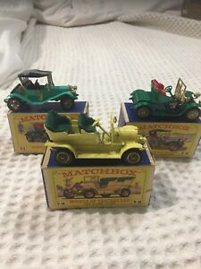 1960's Matchbox Models of Yesteryear Lot