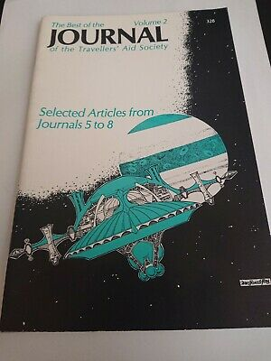 the best of journal volume 2 ii book traveller RPG sci-fi roleplaying (Best Sci Fi Rpg)