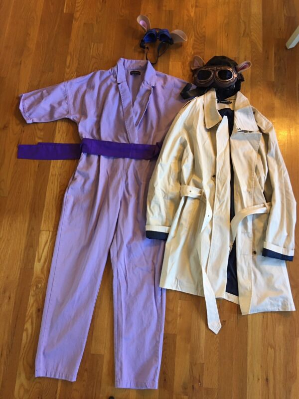 Rescue Rangers Gadget and Monterey Jack Costumes