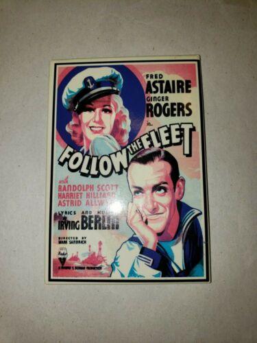 Follow The Fleet - 1953 - Movie Poster Magnet