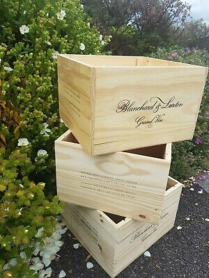 Blanchard & Lurton 6 Bottle Wooden Wine box from Argentina