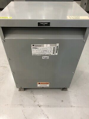Ge Dry Type Transformer 15 Kva 480 Primary - 208y120 Secondary 9t23q3071