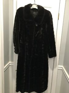 Ladies full length mink coat