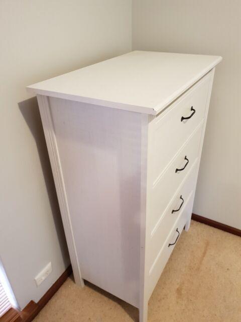 White Bedroom Drawers Dressers Drawers Gumtree Australia