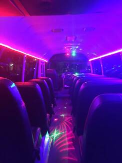 PARTY BUSES SYDNEY WIDE UP TO 61 PEOPLE