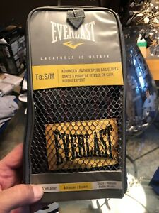 Everlast Leather Speed Bag Glove