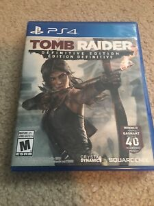 PS4 tomb raider.