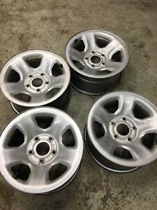 4 steel Dodge Ram 1500 wheels