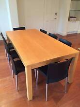 European Beech Dining Table, 10 chairs, matching Coffee Table. Brighton Bayside Area Preview