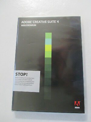 Adobe Creative Suite 4 Web Premium for Windows Full Genuine Version