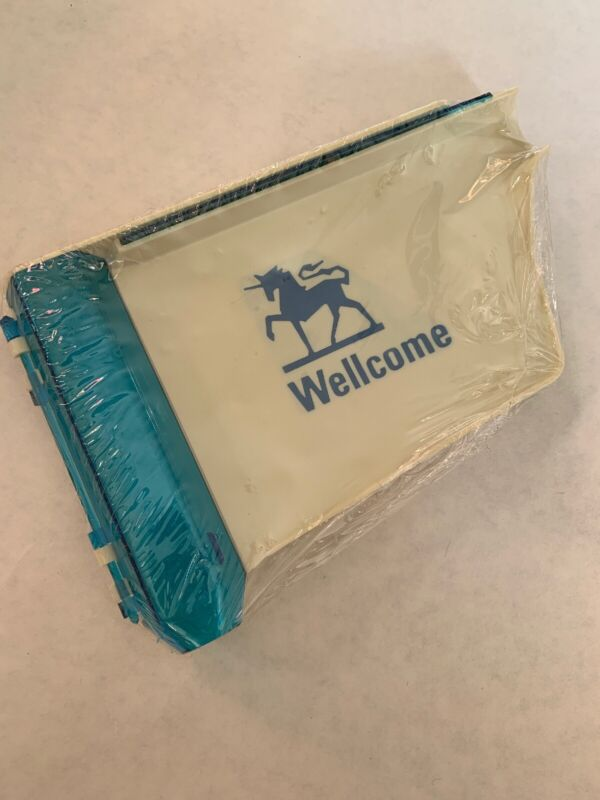 Vintage Wellcome Pill Counting Tray Apothecary Pharmacy NOS