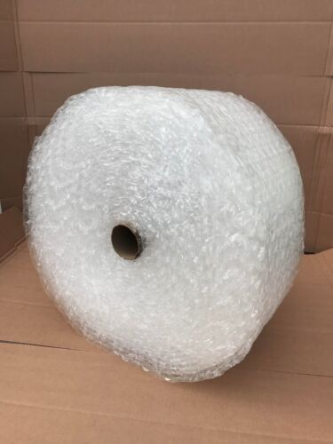 "Large Bubble 1/2""x 24""cushioning Perforated 125 Ft Moving / Protection /shipping"