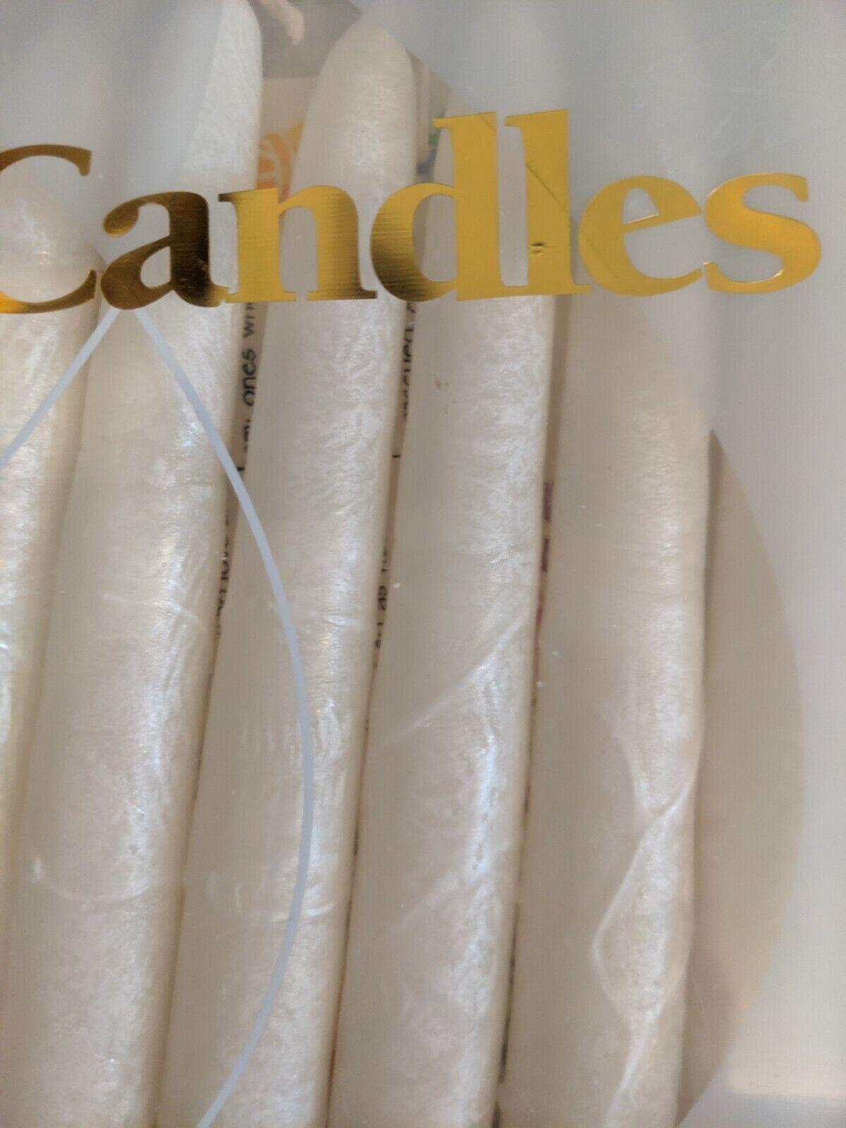 Rite Lite's Premium Hand-Crafted Shabbat & Holiday Candles Box of 12