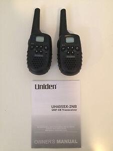 Uniden transceiver (walkie talkie) Subiaco Subiaco Area Preview