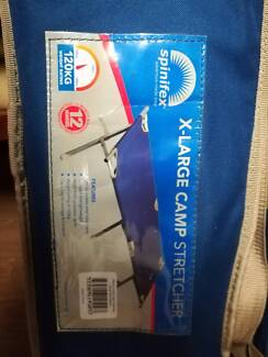 X-Large single Camp Stretcher/bed ONLY USED ONCE