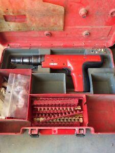 Hilti power nail gun