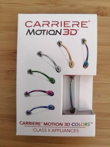 CARRIERE Motion 3D Colors Class II Appliances Distalizer 13-30 L&R with Ruler