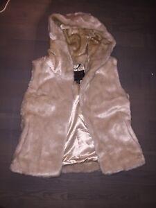 Pajar xs faux fur vest worn once