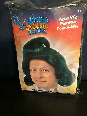 Willy Wonka the Chocolate Factory  Oompa Loompa Adult Wig New with tags