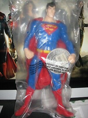 "12"" 13"" 1/6 SUPERMAN JUSTICE LEAGUE FIGURE WB WARNER BROS. STORE DC MARVEL"