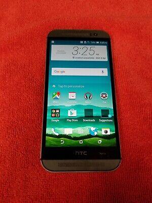 HTC One M8 32GB Gunmetal 0P6B160 (Unlocked) GSM World Phone FR235