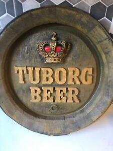 Man Cave Tuborg Beer Sign