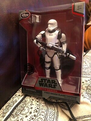 Star Wars Elite Series - First Order Flametrooper Die Cast Figure New Boxed Rare
