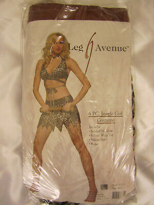 Leg Avenue  83171 Jungle Girl Costume NEW - Jungle Girl Costume