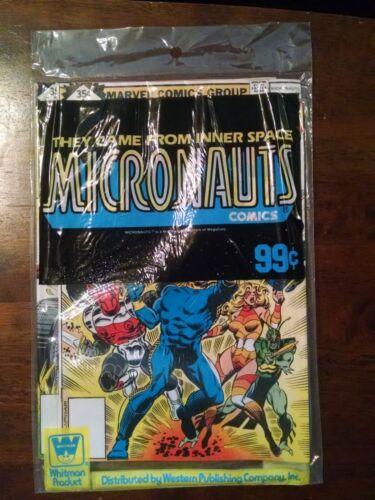 Micronauts # 1, 2, & 3 Whitman SEALED Three (3) Pack 1st Appearance 1979  Marvel