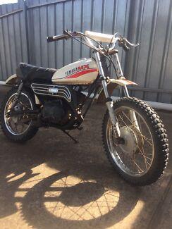 1980 Yamaha MX80