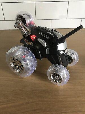 Thunder Tumbler Sharper Image Remote Control Monster Spinning Car Black
