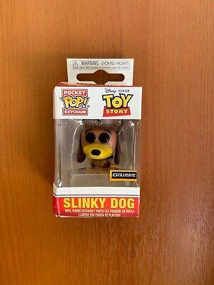 Slinky Dog Funko Pop! Key Ring Toy Story