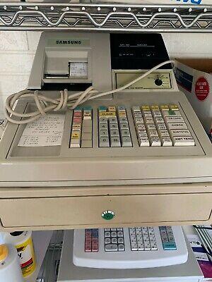 Samsung Er-4915 Electronic Cash Register With Cash Drawer