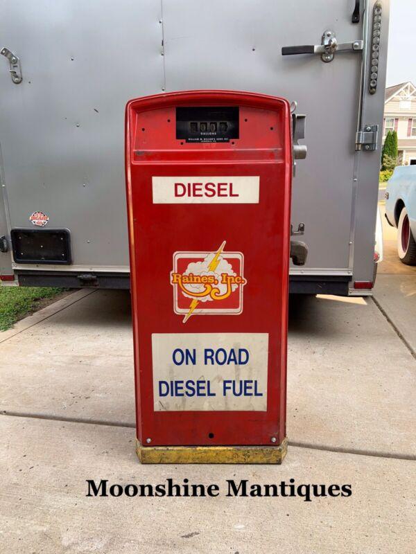 Vintage GASBOY Gas Pump - Mancave Decor / Restoration Project - #2