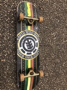Element double kick skateboard