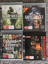Pack of four top selling PlayStation 3 games Bowen Hills Brisbane North East Preview