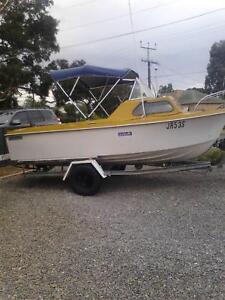 Nereus Half Cab Boat